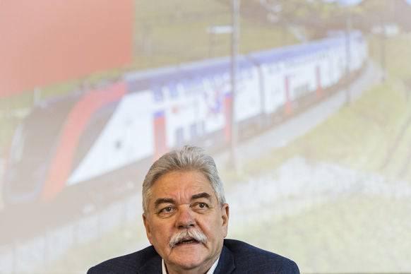 Toni Häne, Leiter Personenverkehr SBB.