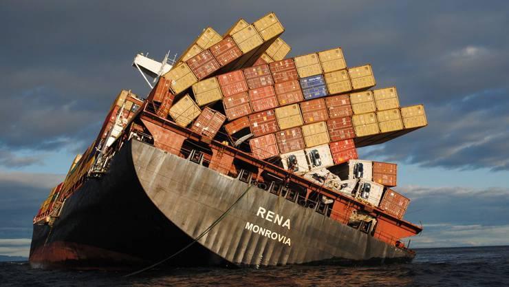 Die «Rena» wird wohl bald auseinanderbrechen