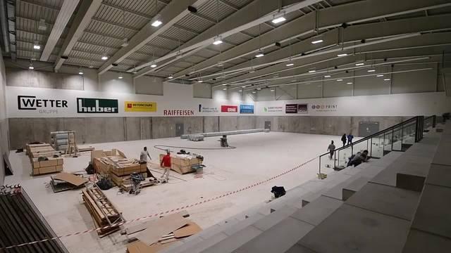 So präsentiert sich die neue Betoncoupe-Arena in Schönenwerd