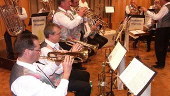 Das Konzert der Blaskapelle Eigenamt