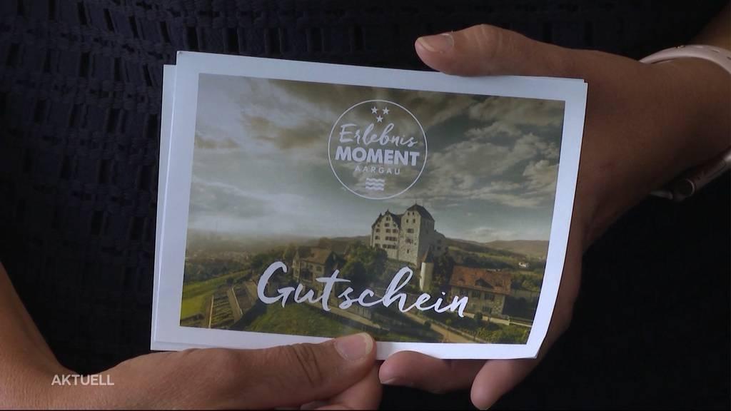 Aargau Tourismus will mit Gutscheinen die Wirtschaft ankurbeln