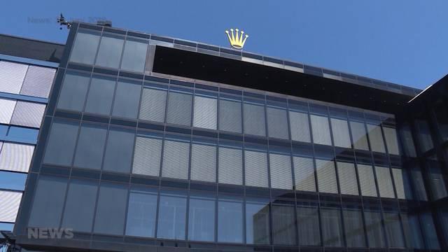 Was geschah am Rolex-Sitz in Biel?