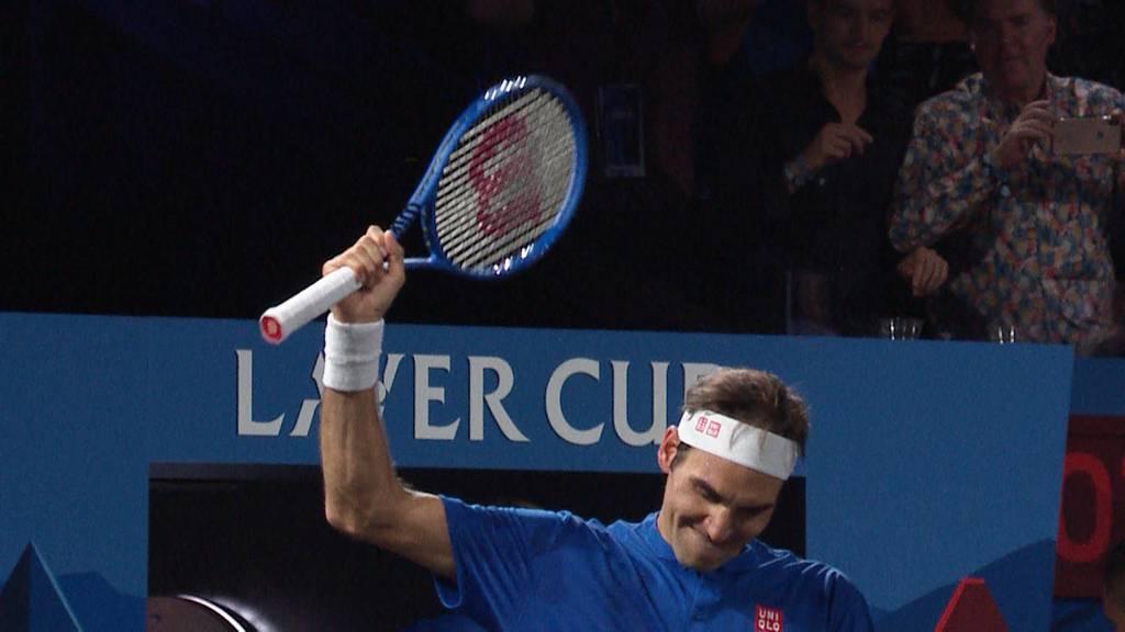 Federers erste Worte nach dem Sieg!