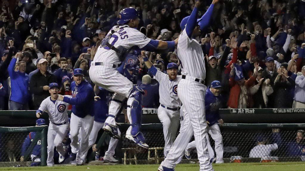 Die Chicago Cubs haben erstmals seit 1945 wieder den Final der Major-League-Baseball erreicht
