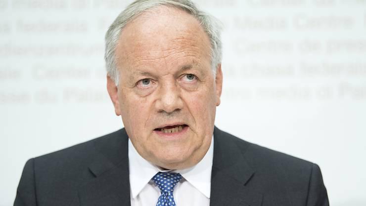 Weibelt im Ausland für die Schweizer Wirtschaft: WBF-Vorsteher Johann Schneider-Ammann (Archiv)