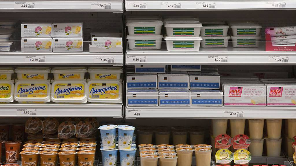 Schweizer Milchprodukte waren im Pandemie-Jahr 2020 sehr beliebt. (Archivbild)