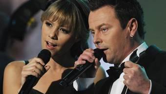 Francine Jordi und Florian Ast singen an Heiligabend im Kreise von Francines Familie (Archiv)