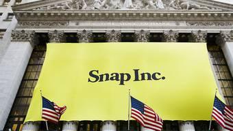 Das Börsendebüt von Snapchat an der Wall Street ist gelungen.