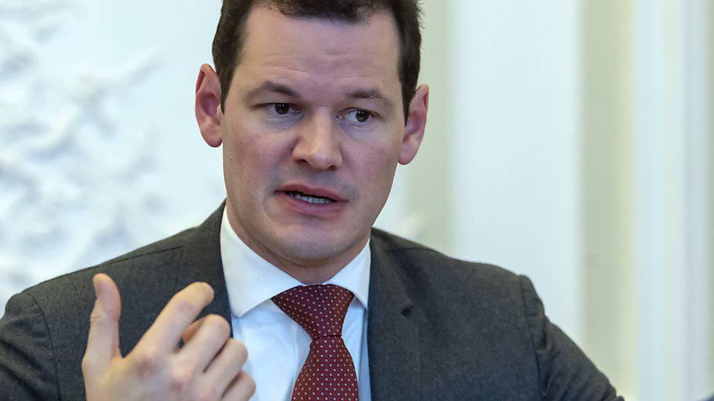 Der Stein des Anstosses: Der Staatsrat, frühere FDP-Hoffnungsträger und Bundesratskandidat Pierre Maudet sorgte mit seiner Abu-Dhabi-Reise für das tiefe Zerwürfnis in der Genfer Partei.