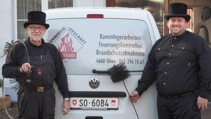 Rudolf Bachmann hat seinem Sohn Roman Bachmann das Geschäft übergeben.