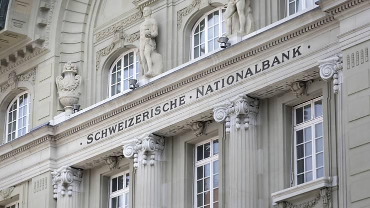 Die Nationalbank schreibt derzeit tiefrote Zahlen. (Archiv)