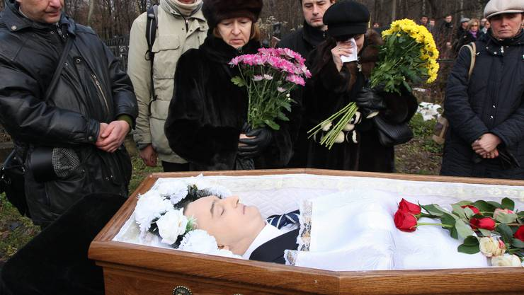 2009 in russischer Haft zu Tod gekommen: Sergei Magnitski.