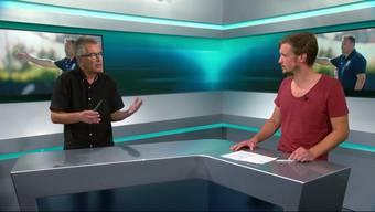 Die AZ-Reporter Sebastian Wendel und Ruedi Kuhn diskutieren die Chancen des FC Aarau vor Saisonbeginn.