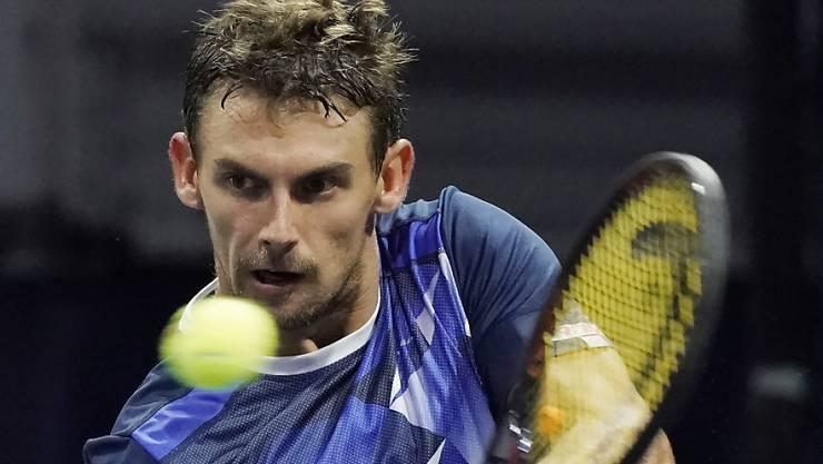 Henri Laaksonen ist der Schweizer Teamleader in der Davis-Cup-Barrage gegen die Slowakei