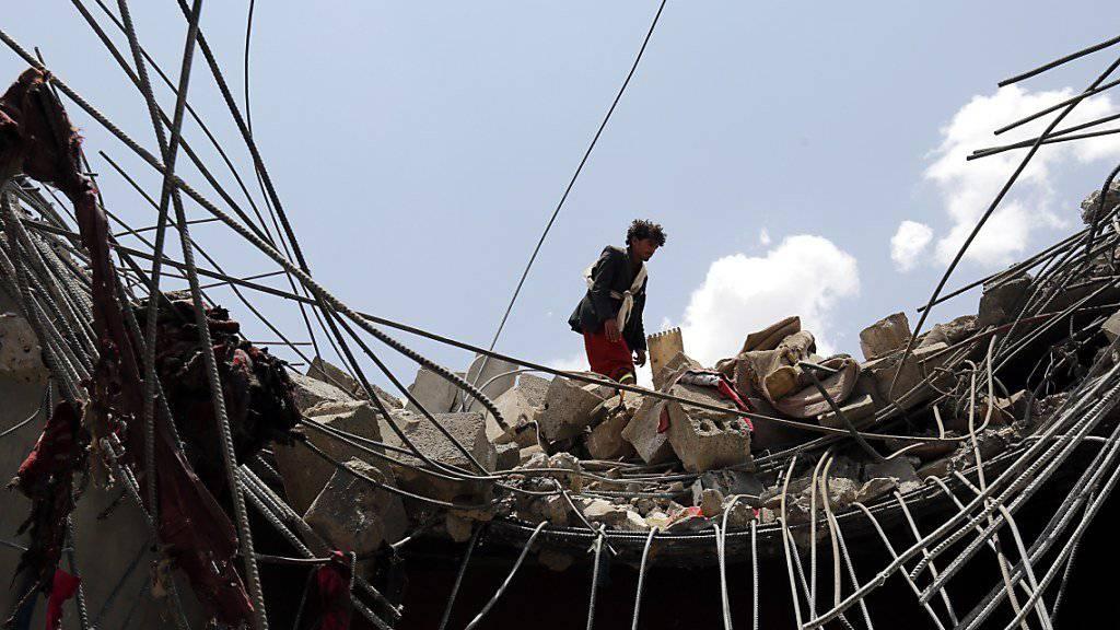 Zwei Luftangriffe der saudi-arabischen Koalition tötete im Jemen laut Uno 68 Zivilpersonen (Archiv)