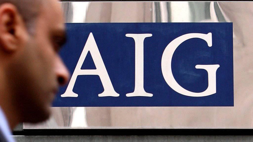Der Versicherungsriese AIG hat im letzten Quartal des abgelaufenen Geschäftsjahres hohe Milliardenverluste verzeichnet. (Archivbild)