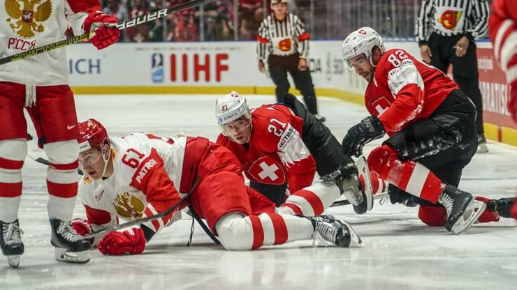 Bereits nach drei Minuten geraten die Schweizer in Rückstand.