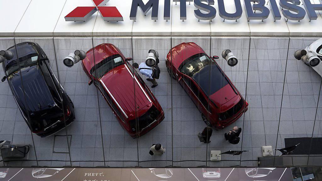 Mitsubishi beziffert den Verlust aufgrund von manipulierten Spritverbrauchstest auf 1,23 Milliarden Euro. (Archiv)