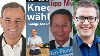 Wahlplakate – und die heimlichen Macher dahinter.