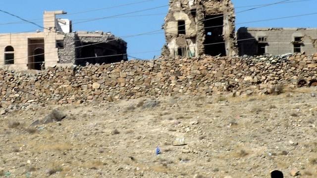 Die Spuren eines mutmasslichen Al-Kaida-Angriffes in Bayda (Archiv)