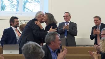 Edith Saner wird zur Grossratspräsidentin 2020 gewählt. Warum sie das Motto «Vielfalt Aargau» zu ihrem machte, führte sie in ihrer Rede aus.