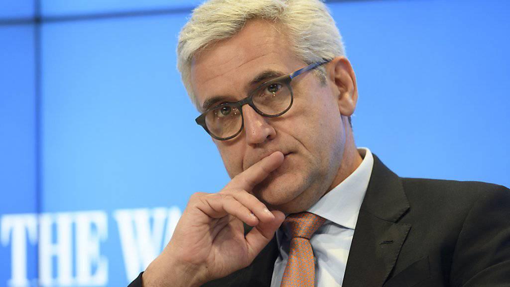 Für ABB-Konzernchef Ulrich Spiesshofer war 2017 ein Übergangsjahr.