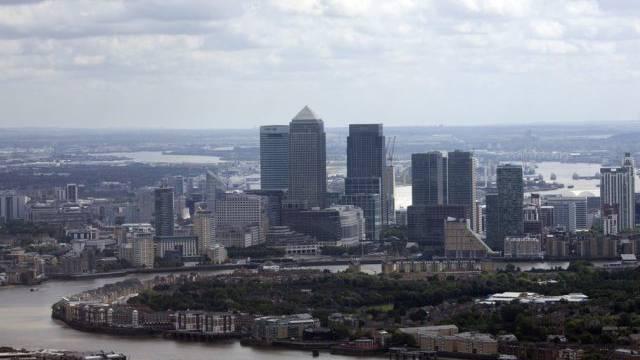 Die Skyline von London - der grösste Bankenplatz der Welt