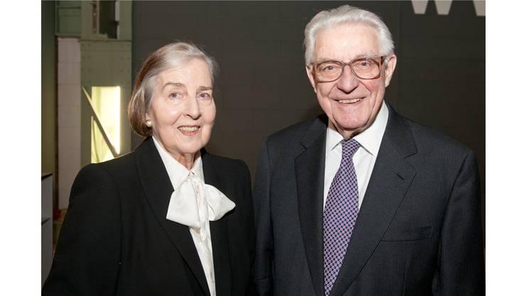 Julius Binder (89) mit Ehefrau.