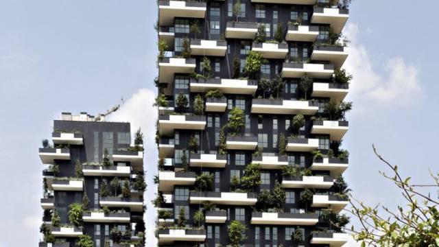 Hochhauspreis für den vertikalen Wald in Mailand