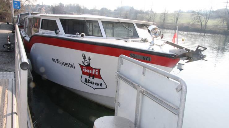 Auch die Öufi-Flotille ist stillgelegt.
