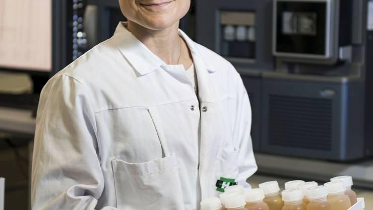 Die Finnin Tiia Kuuranne, die Leiterin des Lausanner Labors, leitet die Nachanalyse der Tests.