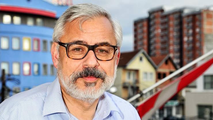 Jean-Hubert Lebet ist der Schweizer Botschafter im Kosovo. Er hat Hoffnung für das Land.
