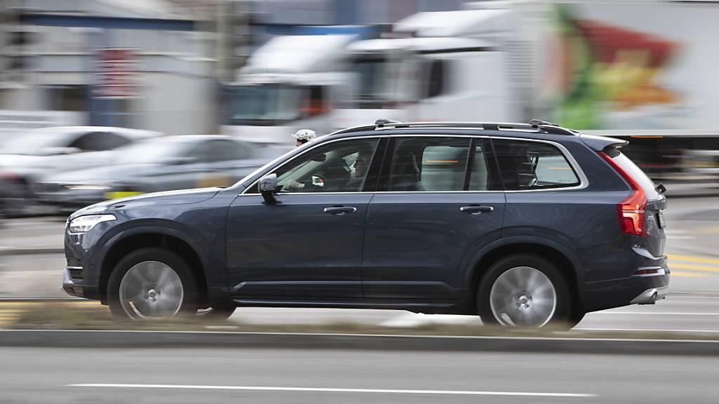 Autobauer Volvo profitiert von starkem SUV-Absatz
