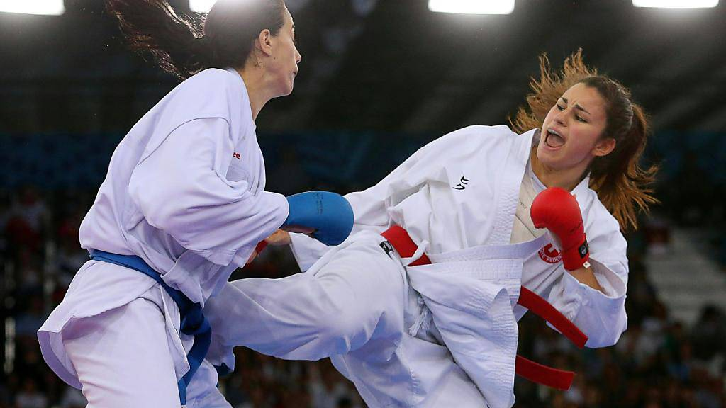 Elena Quirici (rechts) schont ihre Gegnerinnen nicht