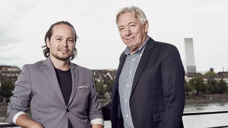 Jonas Schwarz (l.) und Stefan Schuppli, Gründer von Spicker.