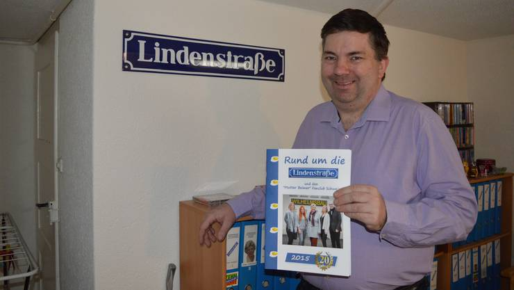 Kann das Aus der Serie nicht verstehen: Die TV-Serie «Lindenstrasse» war ein Teil von Markus Ricklis Leben.