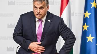 Der ungarischen Regierung von Victor Orban droht ein zweites Vertragsverletzungsverfahren durch die EU, das bei einer Verurteilung zu hohen Geldbussen führen könnte (Archiv)