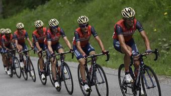 Teamwork ist an der Tour de Suisse 2018 auch in einem Mannschaftszeitfahren gefragt