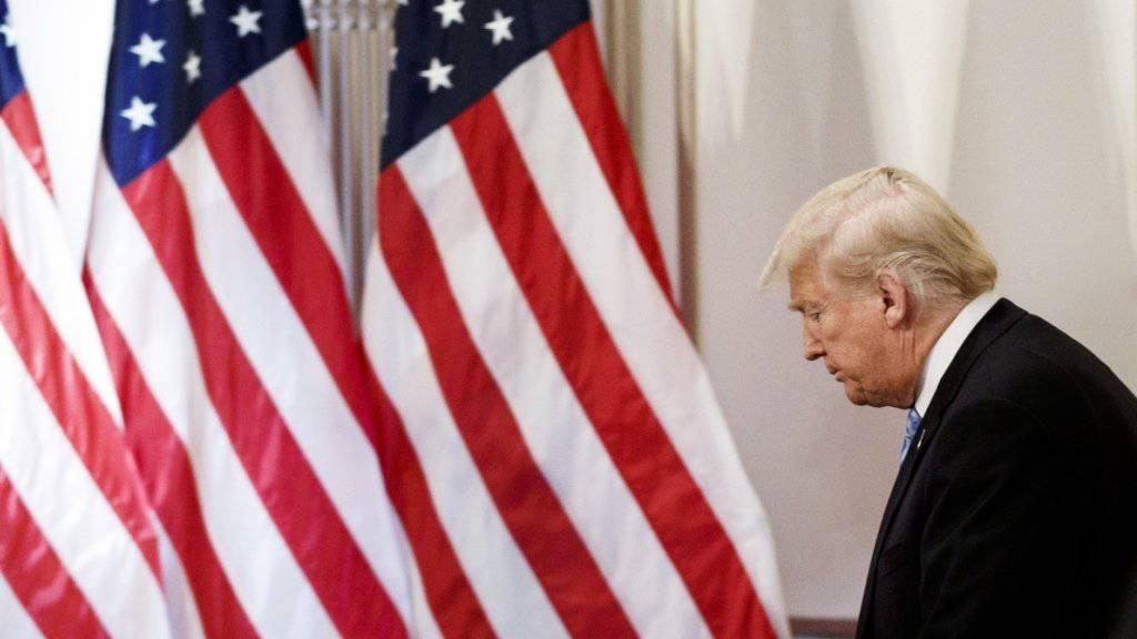 US-Präsident Donald Trump muss das neue Haushaltsgesetz noch absegnen - dann hat er vor dem sogenannten Shutdown erst einmal Ruhe.