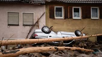Heftige Unwetter im Süden Deutschlands