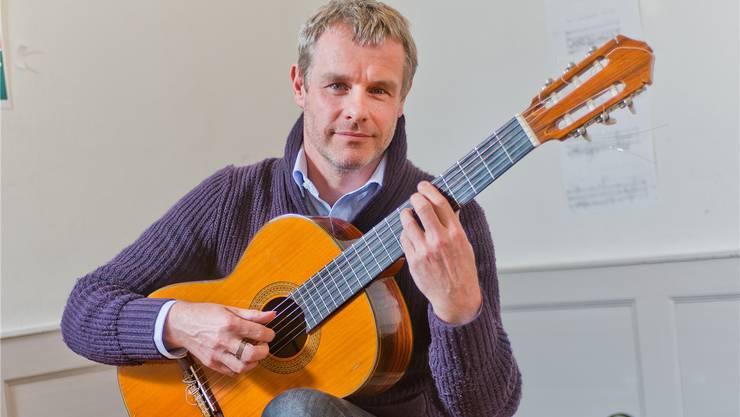 Für das Gitarrenspiel beendete Mats Scheidegger alle sportlichen Aktivitäten.