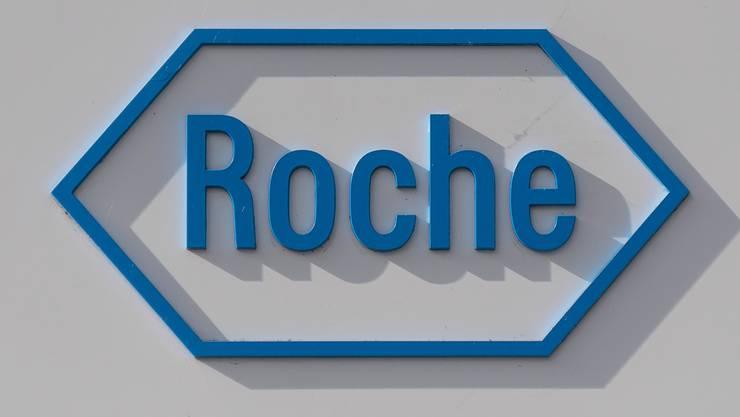 Die F. Hoffmann-La Roche AG mit Hauptsitz in Basel.