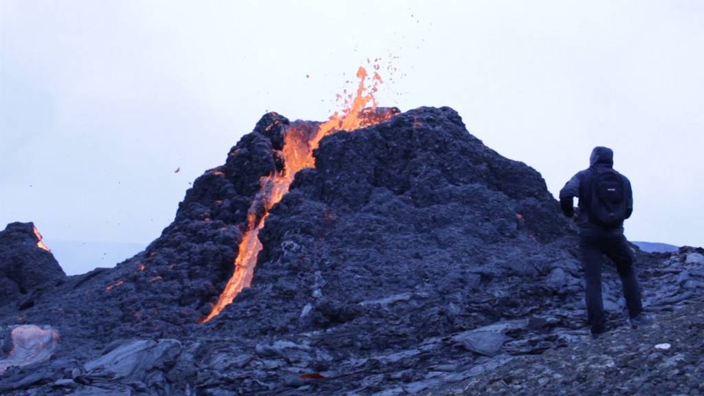 Atemberaubende Bilder vom Vulkanausbruch auf Island