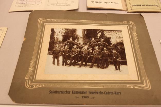 Kantonaler Feuerwehrkurs 1909