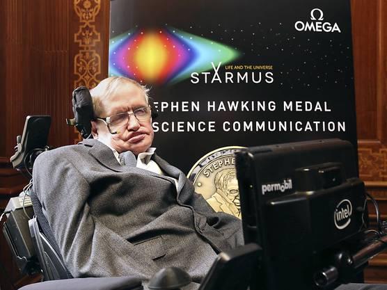 Der britische Wissenschaftler Stephen Hawking ist 76-jährig gestorben.