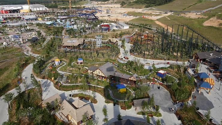 Einst in der Not verkauft: die Freizeitparks Legoland. (Archivbild)