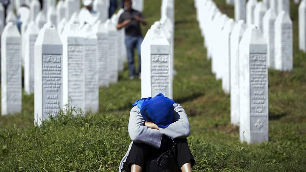 """""""Mütter von Srebrenica"""" ziehen vor Europäischen Gerichtshof"""