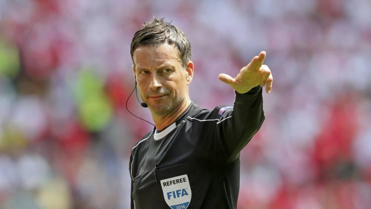 Wird die Spieler auch im EM-Final zu führen wissen: Schiedsrichter Mark Clattenburg