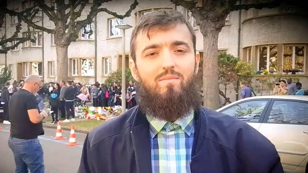 Ausschnitte aus dem Video des radikalen Youtube-Imams Ardian Elezi
