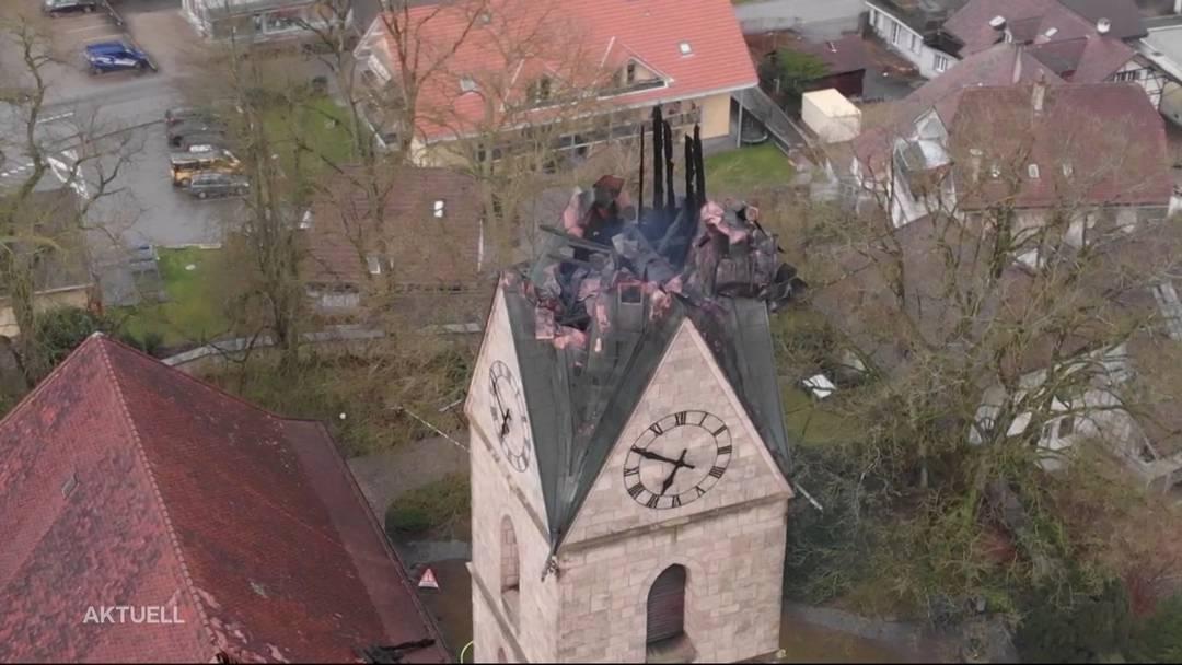 Kirchenbrand in Herzogenbuchsee: Was ist geschehen?